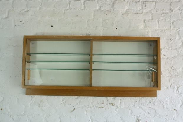 Glass Fronted Kitchen Wall Units