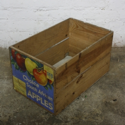 Vintage Choice South African apple crate