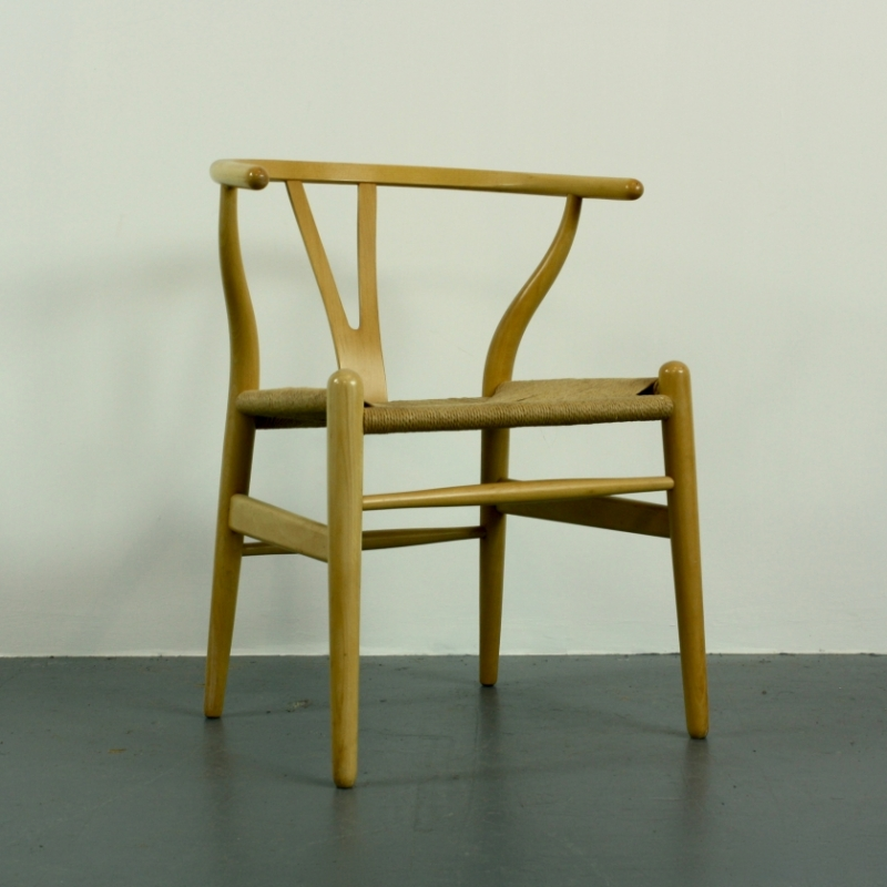 vintage hans wegner wishbone y chair lovely and company. Black Bedroom Furniture Sets. Home Design Ideas