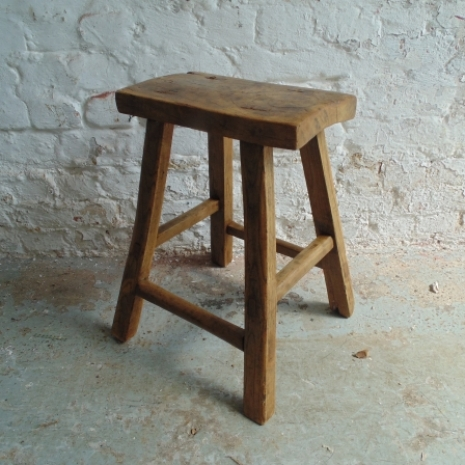 Rustic wooden stool w3 lovely and company for W3 org table layout