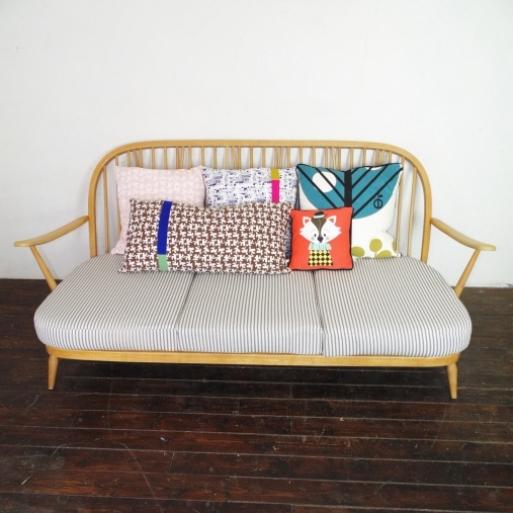 Antique Ercol Sofa: Vintage Ercol Windsor 3 Seater Sofa