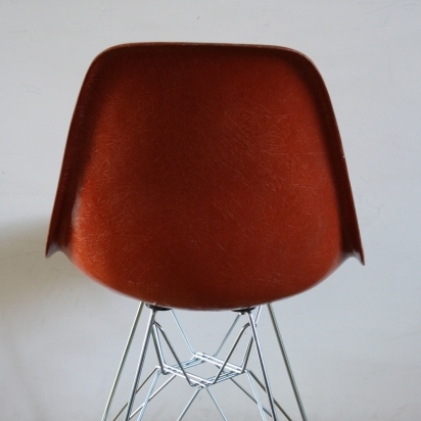 Eames Herman Miller DSW side chairs on eiffel base in brights red / blue / kelly green / yellow copy