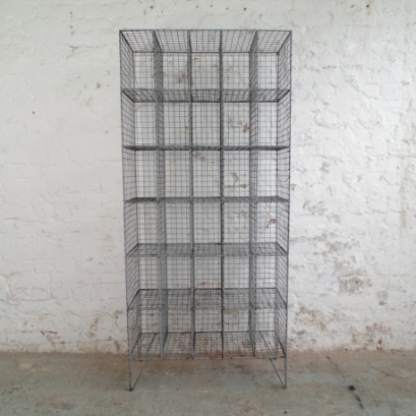Vintage Wire Mesh Pigeon Hole Unit Lovely And Company