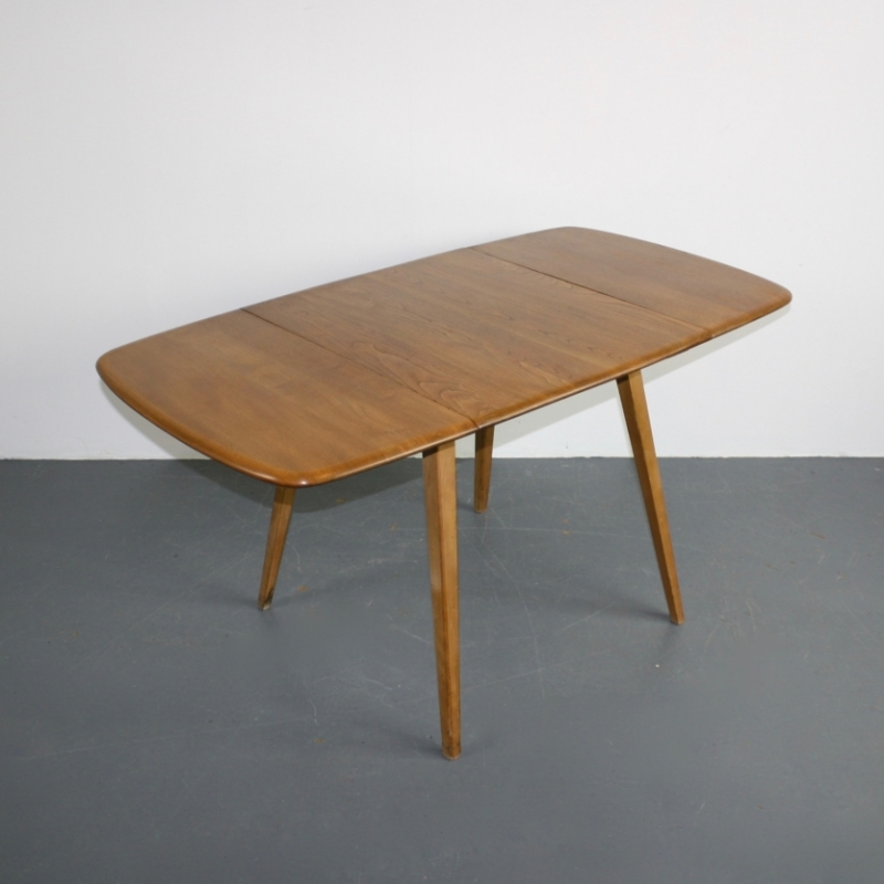 Vintage Ercol Windsor Drop Leaf Table Lovely And Company