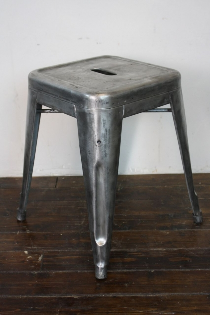 Vintage French Tolix Stool Lovely And Company