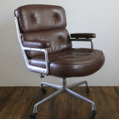 charles eames herman miller time-life lobby chair - lovely and company