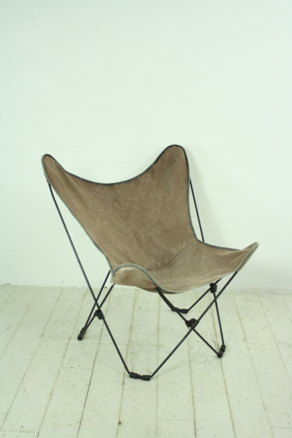 60s canvas butterfly chair Lovely and pany