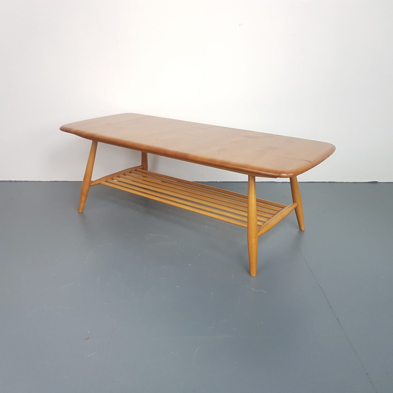 Vintage Ercol Coffee Tables For Sale: Ercol Blonde Coffee Table