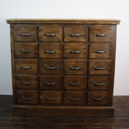 Vintage 20 drawer small haberdashery chest lovely and for Divan 2 2 drawers