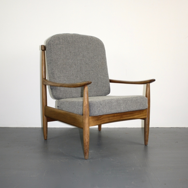 High Quality Vintage Midcentury Danish Armchair