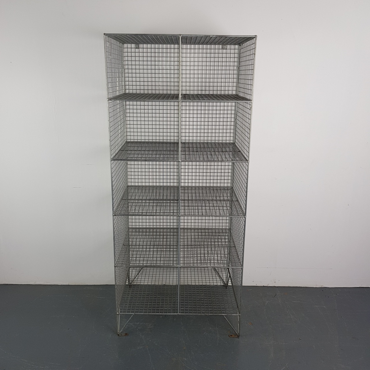 mesh shelving systems vintage wire mesh shoe locker pigeon holes lovely and company 5272