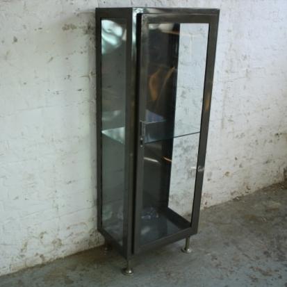 Vintage doctor s cabinet metal