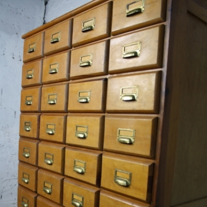 Vintage Bank Of 40 Drawers Lovely And Company