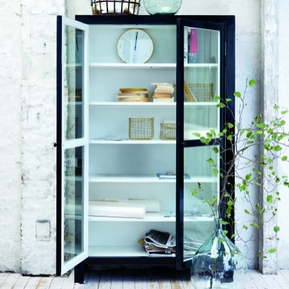 House Doctor Mall cabinet in black - Lovely and Company