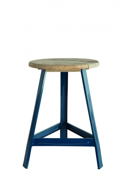 house doctor dk have a seat stool in petrol blue lovely. Black Bedroom Furniture Sets. Home Design Ideas