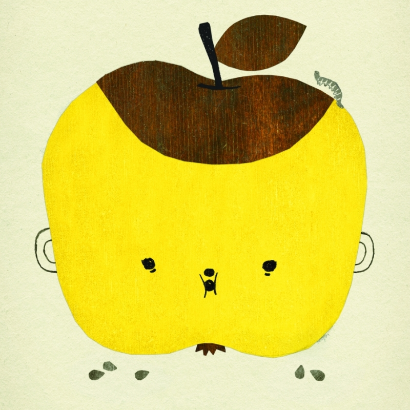 Poster Apple Papple
